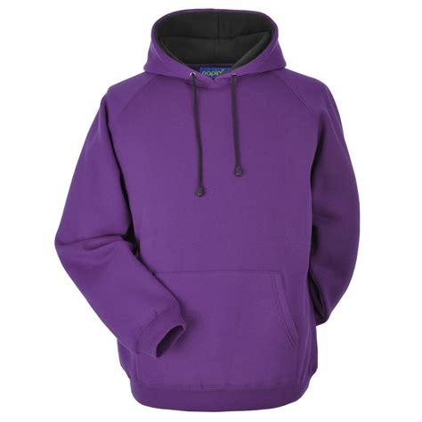 Hoodie Purple papini lined hoodie balmoral mill shop