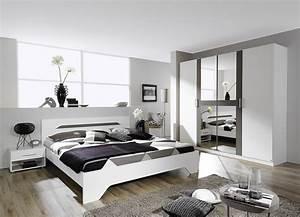 chambre adulte design blanche et grise rudie chambre With chambre bébé design avec commander un bouquet