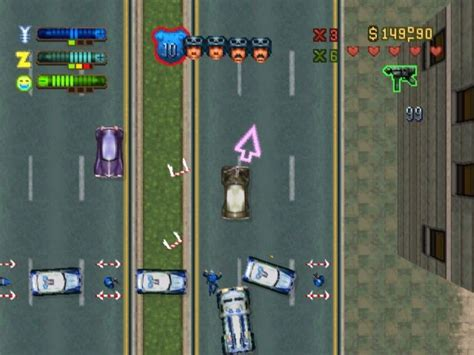 Grand Theft Auto 2 Screenshots For Playstation