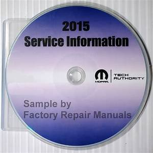 2015 Jeep Cherokee Factory Service Manual Cd Original Shop