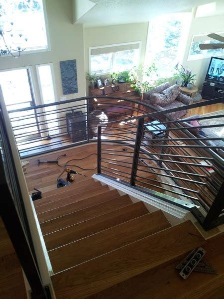 gallery horizontal rail