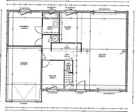 plan maison 3 chambres etage tage ment faire un plan d une maison plan dune maison