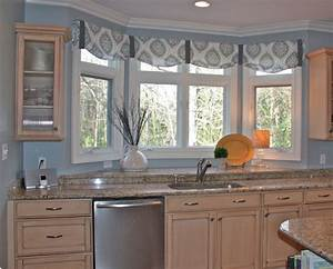 15 must see kitchen bay windows pins bay window seating With kitchen curtain ideas must know