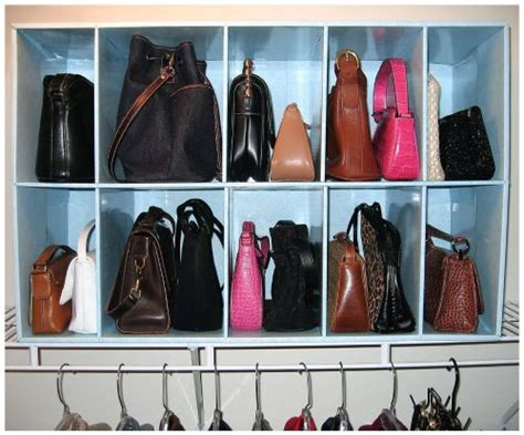 Purse & Handbag Storage Ideas & Solutions