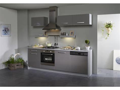 meubles cuisine gris pack cuisine 7 meubles dinah extension lave vaisselle
