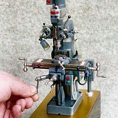 miniature bridgeport mill miniature   vertical