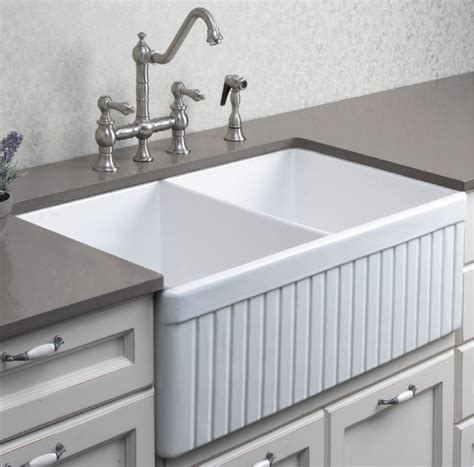 clay sinks kitchen debbie fireclay ceramic kitchen sink bacera 7202