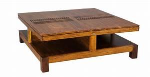 Table Basse Fly Occasion : table basse bois et chiffons occasion ~ Teatrodelosmanantiales.com Idées de Décoration