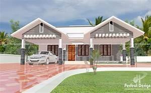 1087, Square, Feet, Modern, Single, Floor, Home, Design