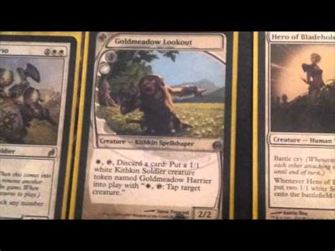 magic the gathering deck ideas mono white soldiers youtube
