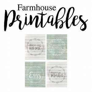 farmhouse free printables the cottage market