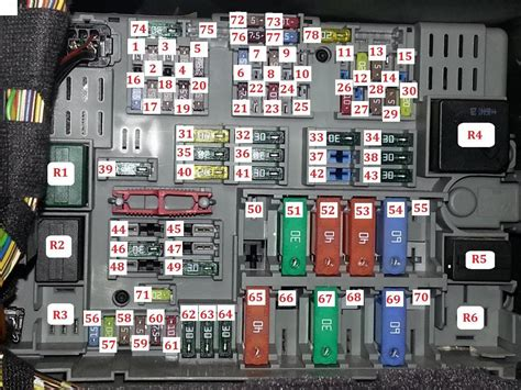 Bmw 135i Fuse Box Diagram by Fusible Bmw Serie 1 E87