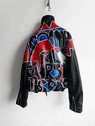 Black Hand Painted Jacket