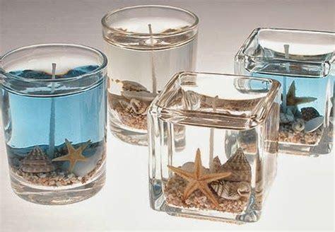 candele gel 21 idee creative per creare delle decorazioni con le