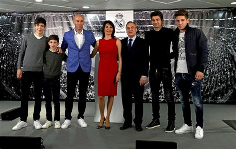 zidanes  sons joined real      club