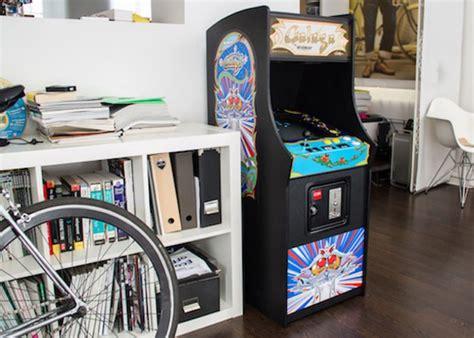 Raspberry Pi Arcade Cabinet Plans by Raspberry Pi Powered Galaga Arcade Machine Cabinet