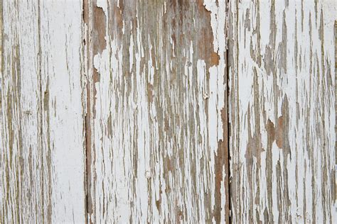 Two Very Rough Painted White Wood Textures