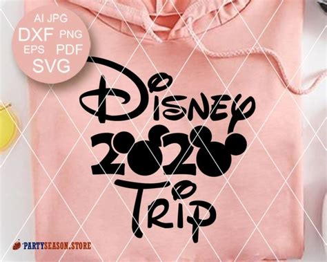 Just click the image below, enter your info, and start watching your free planning video for disney world or disneyland! 2020 Disney trip svg