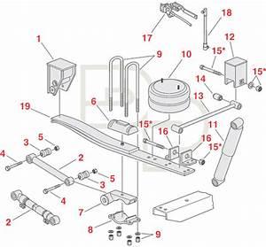 74ar  Tandem Axle Trailer Air Suspension