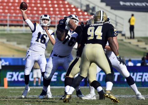 saints  rams matchups  orleans defense  los