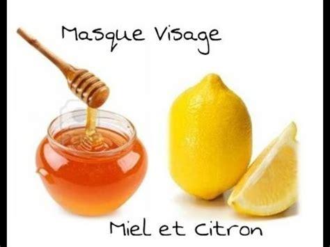 masque visage fait maison miel et citron anti acn 233 boutons point noir affine le grain de peau