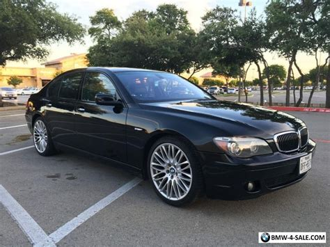 2007 Bmw 7-series Bwm 750i For Sale In Canada