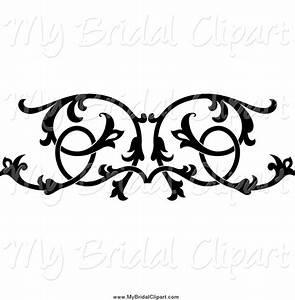Black And White Design Floral Clip Art | Joy Studio Design ...