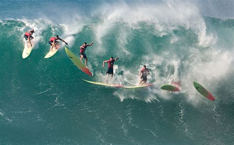 wipeout surf surfing wipe diver down waves hawaii