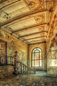 Poland Abandoned Palace Staircase