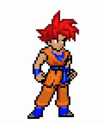 Goku Pixel Ssg