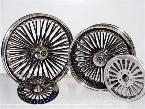 Custom Fat Spoke Motorcycle Wheels