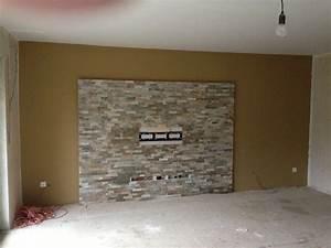 Steinwand Wohnzimmer Tv : steinwand wohnzimmer selber machen decoraiton ~ Bigdaddyawards.com Haus und Dekorationen