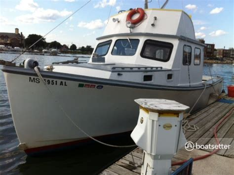Boatsetter Insurance Policy by Rent A 1978 30 Ft Lobster Cruiser In Winthrop Ma On
