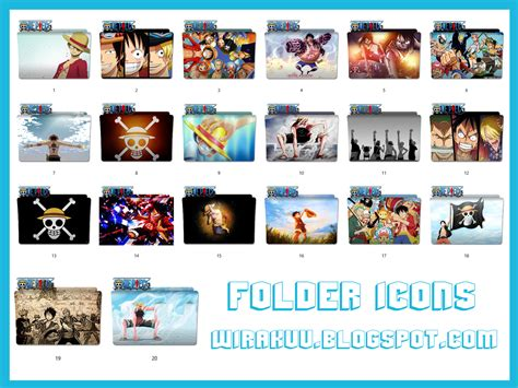 Anime Folder Icons 2017 20 Folder Icons Anime One 2017 Windows 7 8 10