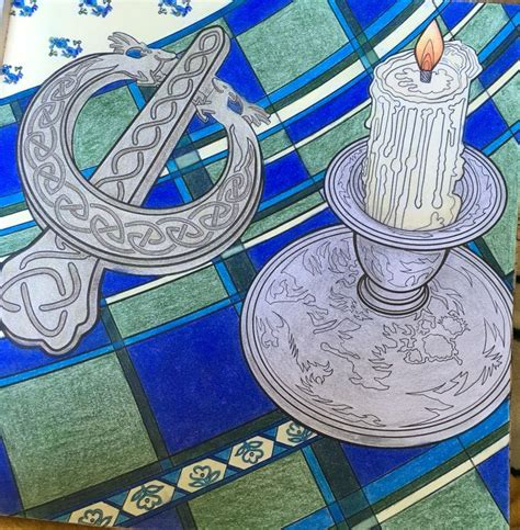 outlander coloring book colored pencils  finished coloring pages coloring books
