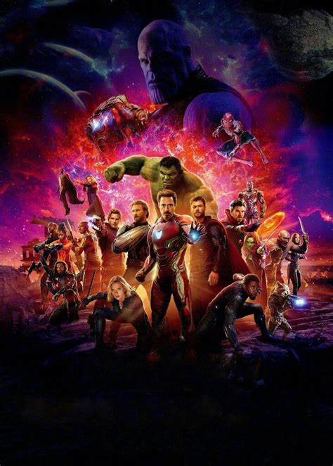 Avengers: Infinity War Official Chinese Poster (Textless ...