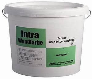Gut Deckende Wandfarbe : intra wandfarbe fiocchi farben ag ~ Watch28wear.com Haus und Dekorationen