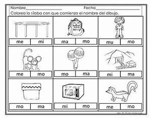 Sílabas Con La Letra M Ma Me Mi Mo Mu Hojas De Trabajo Spanish ...