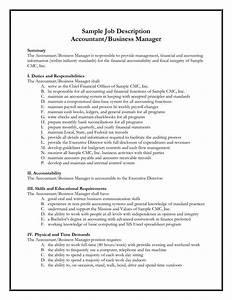 Best photos of samples of job descriptions formats for Samples of job descriptions templates