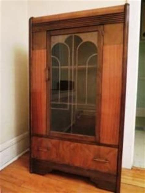 art deco waterfall china cabinet 1000 images about vintage china cabinets on pinterest