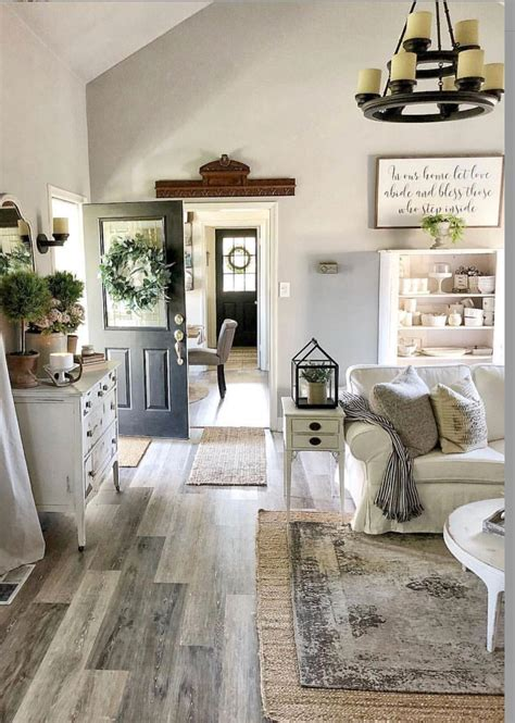 Best Living Room Farmhouse Style Wonderful