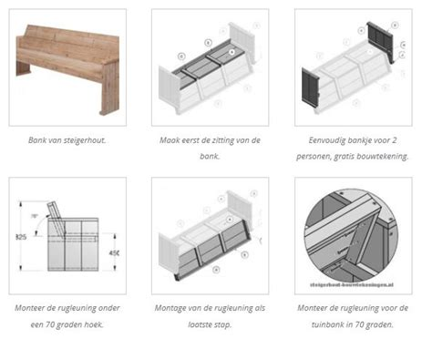 hoe maak ik een tafel steigerhout hoe kan ik zelf een tuinbankje maken steigerhout