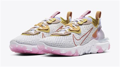 Nike fortifies the react vision with 3m thinsulate. Nike React Vision Pure Platinum Pink | CI7523-003 | The ...