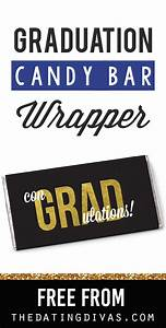 Quotcongratsquot candy bar wrappers the dating divas for Free printable graduation candy bar wrappers templates