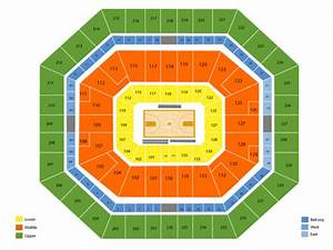 Bud Walton Arena Seating Chart  U0026 Events In Fayetteville  Ar