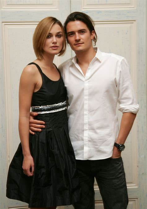 Keira Knightly And Orlando Bloom Celebs Pinterest