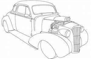 kolorowanka chevy coupe hot rod kolorowanki dla dzieci With 1955 chevy hot rods