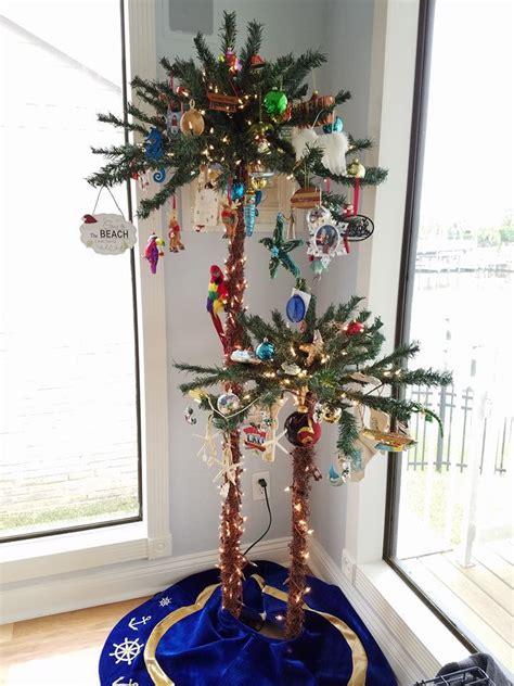beach christmas trees ideas  pinterest beach