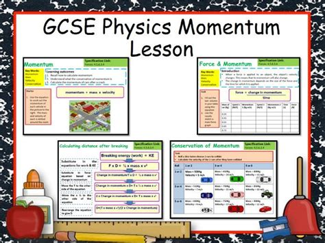 New Aqa Gcse Physics Momentum Lesson By Chalky1234567  Teaching Resources Tes