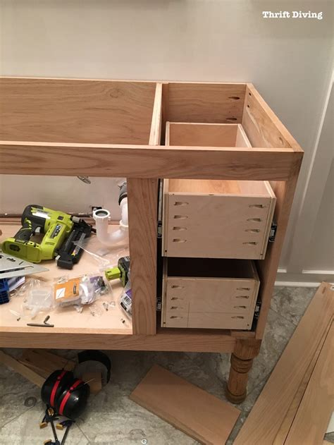 how to build a cabinet box how to build a cabinet drawer box mf cabinets